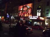 Strip clubs in downtown Montreal