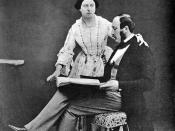 English: Queen Victoria and Prince Albert, 1854