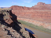 English: Dead Horse Point, as seen from the Chicken Corners off-road trail, west of Moab