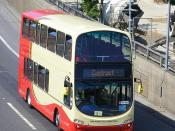 Brighton & Hove Wrights - olympic games vehicle Volvo B9TL  -  Wrights Gemini BF12 KXP