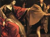 Joseph and Potiphar's Wife (1631 painting by Guido Reni)