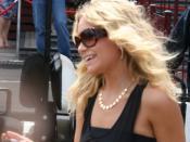 Ashley Olsen at Luna Park, Sydney