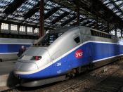 TGV Duplex at Gare de Lyon (Paris)