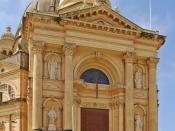 English: Rotunda St. John The Baptist in Xewkija, Gozo, Malta. Deutsch: Die Rotunda von Xewkija, Gozo, Malta.