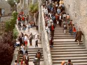 Massentourismus am Mont-Saint-Michel