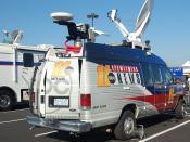 WTVD News Vehicle