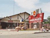 Old McDonald's fast food restaurant, now non-official museum