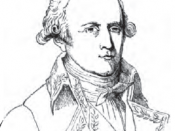 An engraving of Jean-Baptiste Lamarck at 35 years of age.