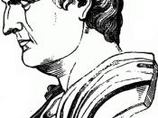 English: Bust of Mark Antony