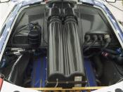 English: BMW S70/2 V12 engine in McLaren F1 GTR chassis #017R.
