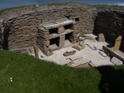 House 1 of Skara Brae.