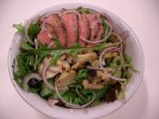 Lamb and Artichoke Salad - BBQ Leftovers Salad 2
