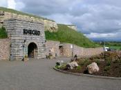 Entrance to the Rheged Discovery Centre