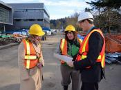 Checking out plans for the new Chilliwack campus at the Canada Education Park