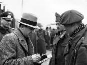 Marcel Junod, delegate of the ICRC, visiting POWs in Germany. (© Benoit Junod, Switzerland)