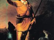 Portrait of David Crockett, by John Gadsby Chapman, oil on canvas d..