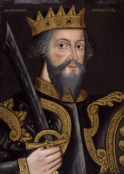 King William I ('The Conqueror'), by unknown artist. See source website for additional information. This set of images was gathered by User:Dcoetzee from the National Portrait Gallery, London website using a special tool. All images in this batch are list