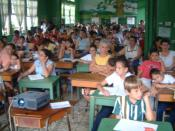 English: Costa Rican poor School