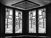 Robie House (designed by Frank Lloyd Wright), Chicago, Illinois