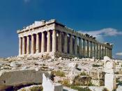English: Parthenon, Athens Greece. Photo taken in 1978. Español: Partenón, Atenas, Grecia. Fotografiado en 1978.