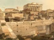 View of the Parthenon from the Propylea