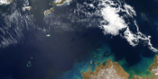 English: Oil Slick in the Timor Sea, September 2009