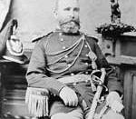 English: Photograph of First Lieutenant William R. Parnell, Company H, First Cavalry.