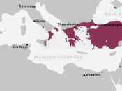 English: The Byzantine Empire, c. 867 AD.