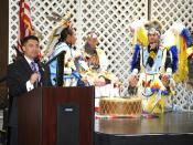 LG at National American Indian Heritage Month kickoff