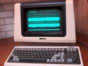 Computer terminals were used for time sharing access to central computers, before the advent of the personal computer.