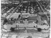 The Fritz Hotel in Miami, Florida. Embry-Riddle occupied the building prior to moving to Daytona Beach, Florida.