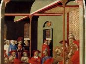 Pope Innocent III Accords Recognition to the Franciscan Order