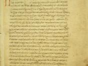 English: Commentatary on Aristotle's De caelo by Simplicius of Cilicia (sixth century AD). This manuscript is signed by a former owner, Cardinal Bessarion, whose household in Rome was an important center of Greek studies.