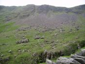 English: Settle Earth. Looking across Wren Gill into the heart of the square.