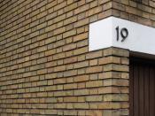 jørn utzon, architect: kingohusene courtyard houses, helsingør 1956-1960