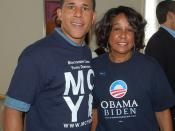 091 Lt Governor Anthony Brown with event host, Dr. Jean Bailey