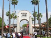 Entrance Universal Studios Hollywood