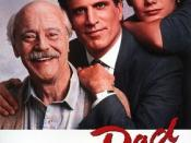 Film poster for Dad - Copyright 1989, Universal Pictures