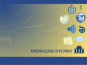 English: Knowledge is Power