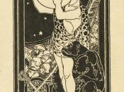 English: Bookplate of American writer Edgar Rice Burroughs (1875-1950) showing Tarzan holding the planet Mars, surrounded by other characters from Burroughs' stories and symbols relating to the author's personal interests and career. Associated media: Fil