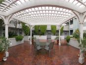 Panorama of the courtyard of my old apartment complex after it had been raining. Equipment used was a Nikon Coolpix 5000, Kaidan pano head, and Manfrotto tripod. Image was stitched together using Apple Computer's QuickTime VR Authoring Studio.