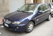 English: Rover 25 facelift