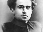 English: Portrait of Antonio Gramsci around 30 in the early 20s Français : Portrait d'Antonio Gramsci, vers 30 ans, au début des années 1920.