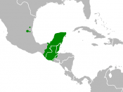 Location of Mayan speaking populations