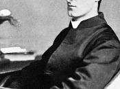 Gerard Manley Hopkins, an English poet, Roman Catholic convert, and priest