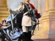 Wilhelm II, German Emperor. Oil painting by Max Koner, 1890.
