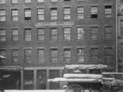 Custom House Street, Boston, Massachusetts. Built in 1810. Nathaniel Hawthorne worked here ca.1839-1840