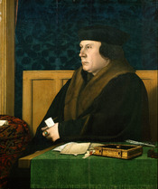Portrait of Thomas Cromwell. New York, Frick Collection. Oak panel, 76 x 61 cm.