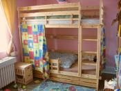 Standard bunk bed