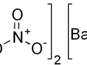 chemical structure of barium nitrate